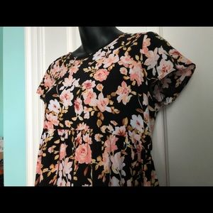 Light and Flowy Floral Dress